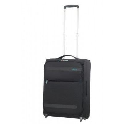 American tourister HEROLITE SUPER LIGHT UPR.55/20 VOLCANIC BLACK