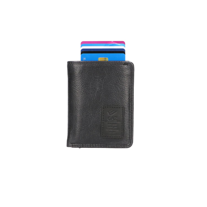 GAZ Portemonnee voor Cardprotector GA 2924/2 Zwart