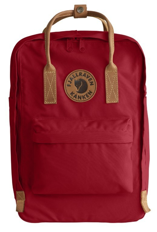Fjällräven ​​Kånken No. 2 Laptop 15 Backpack F23569 Deep Red