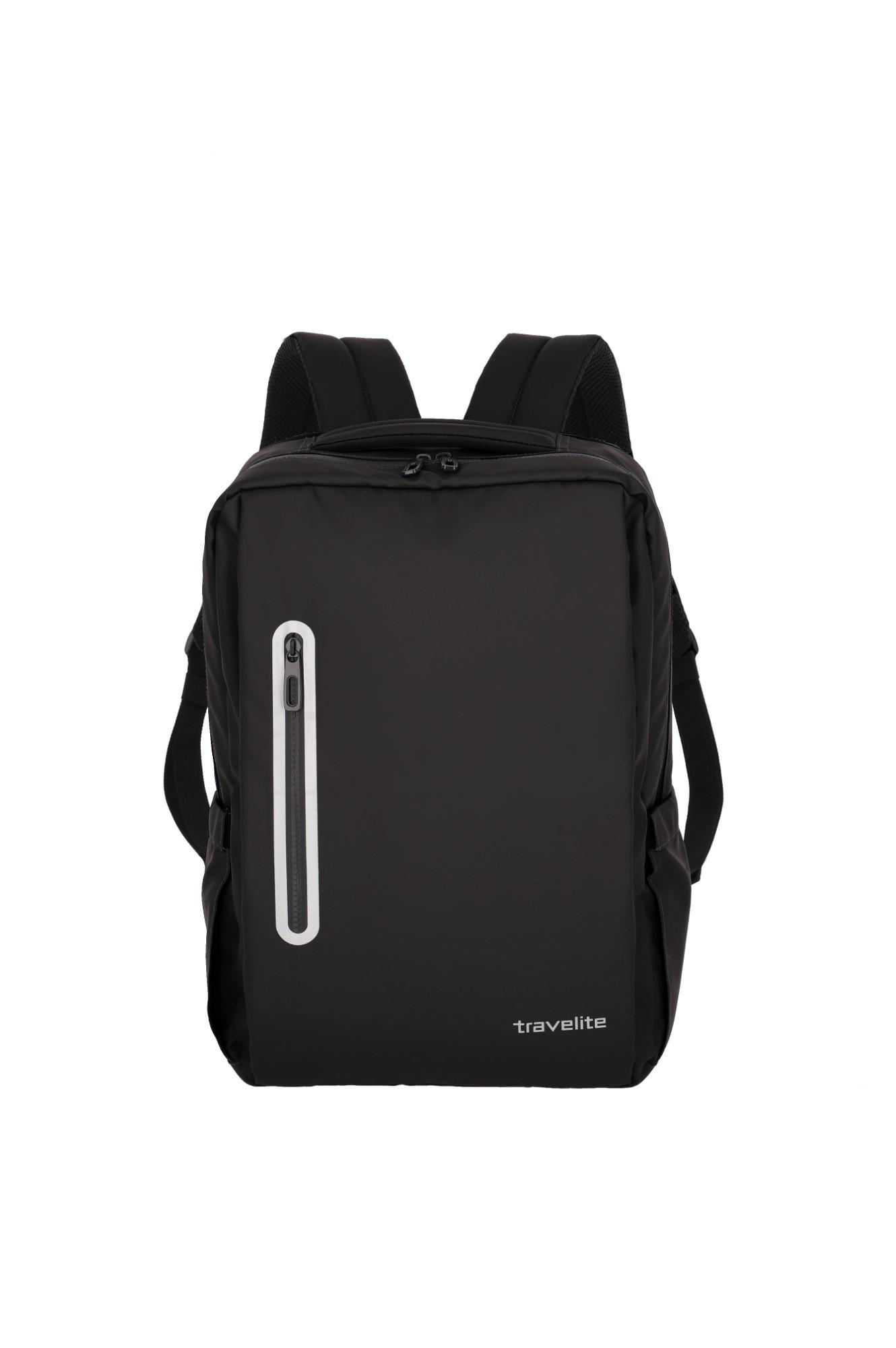 Travelite Basics Boxy Rugtas 96341 Zwart