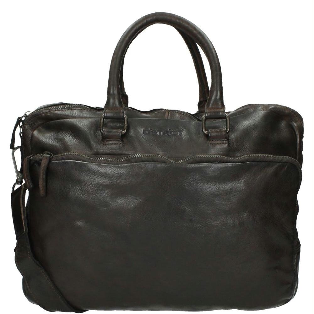 DSTRCT Pearlstreet 026120 Business Bag 'Victor' Brown