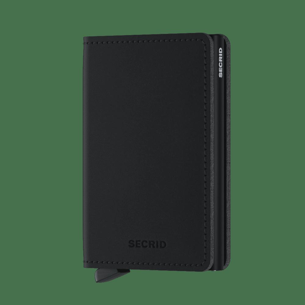 Secrid Slimwallet Soft Touch Black