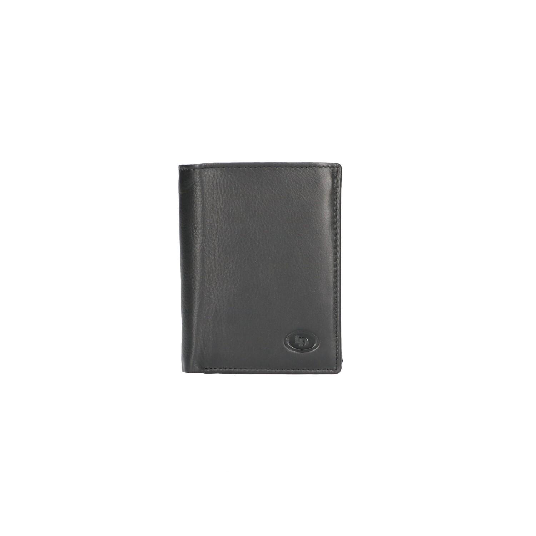 Leather Design Billfold HI 232 Zwart