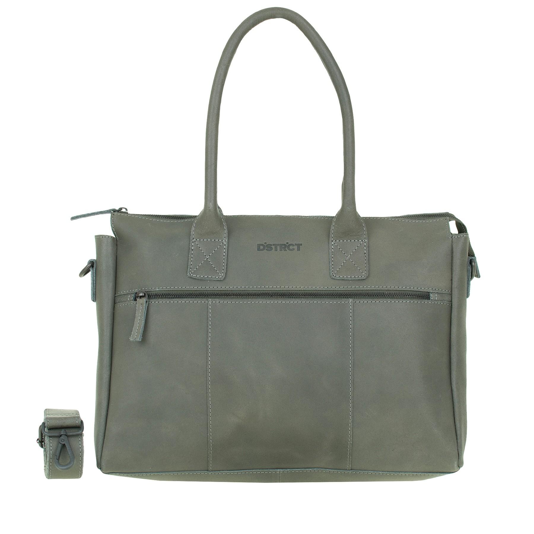 DSTRCT Riverside 011330 Business Bag Grey