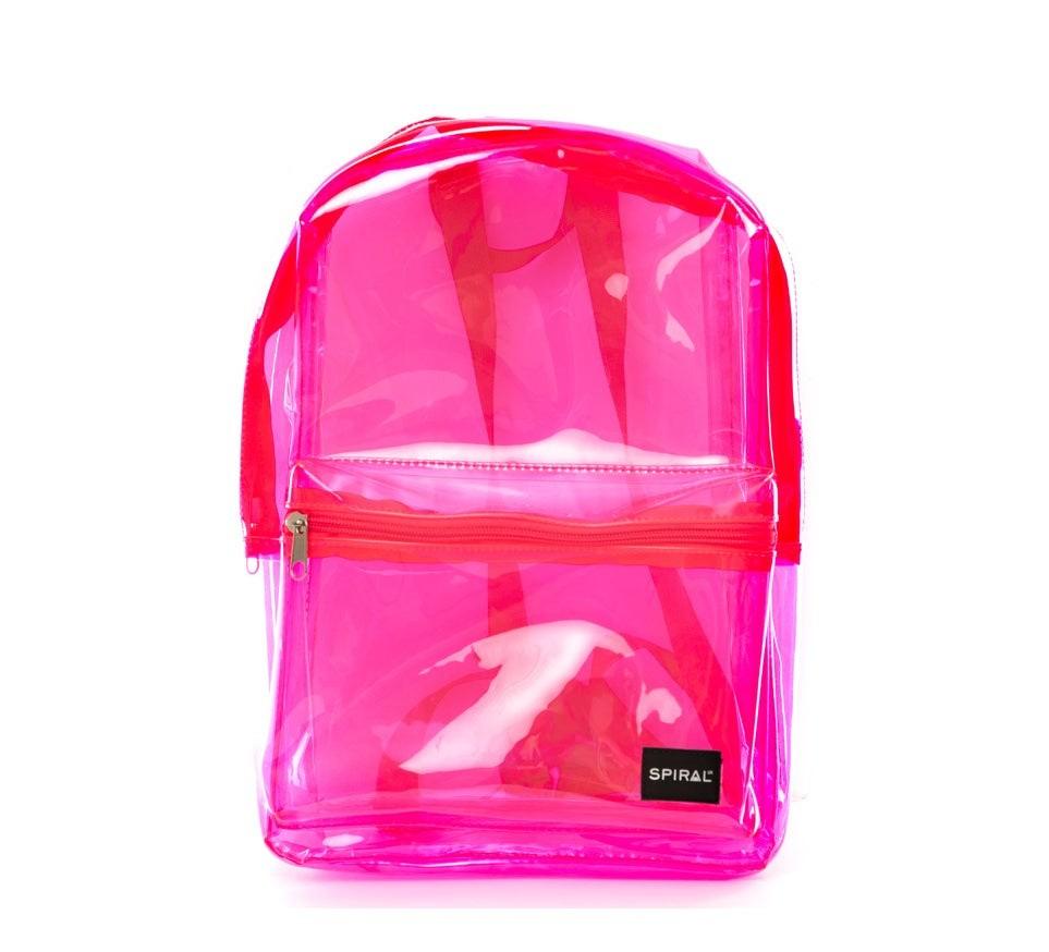 Spiral Mini OG Backpack Transparent Pink