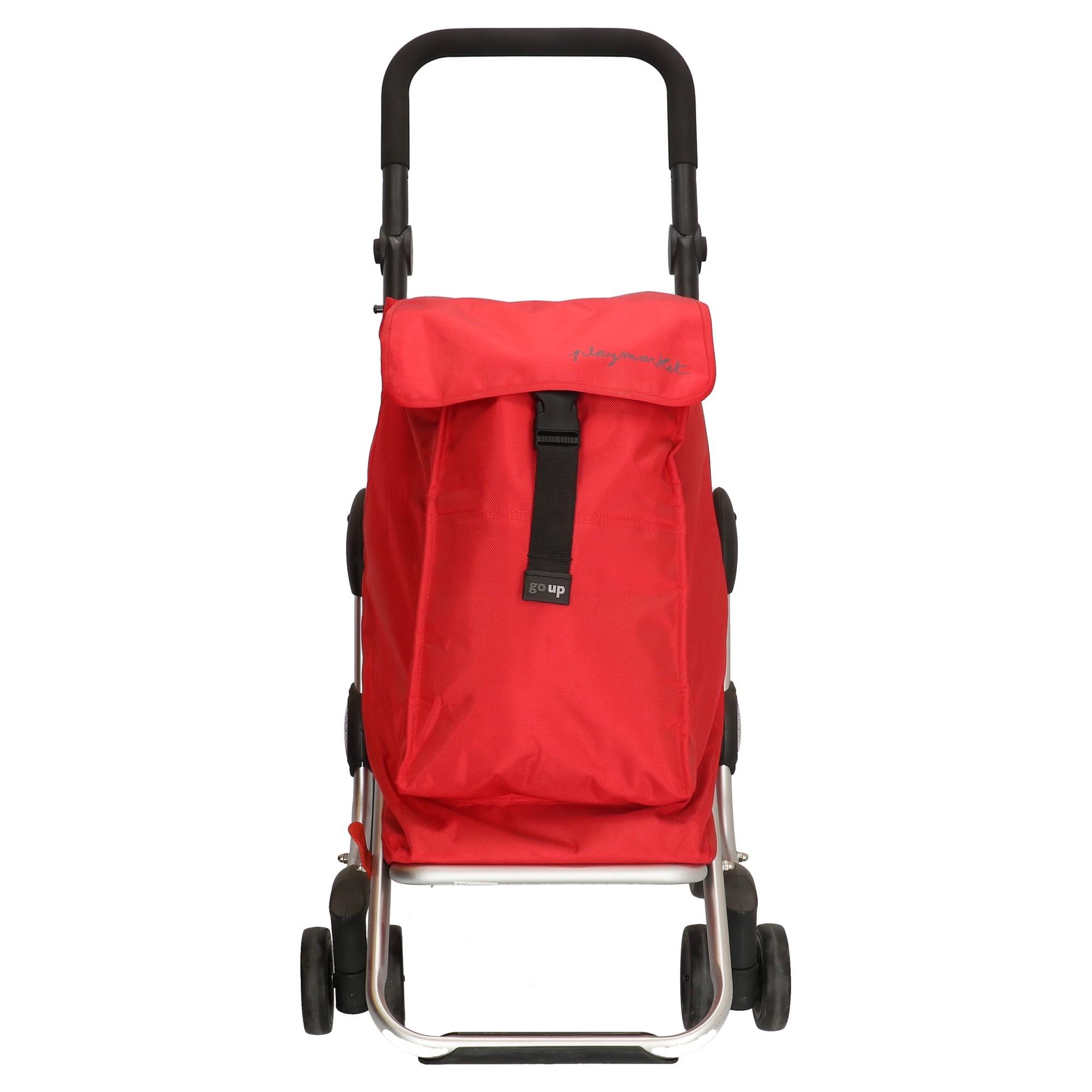 Playmarket Go Up Boodschappentrolley rood