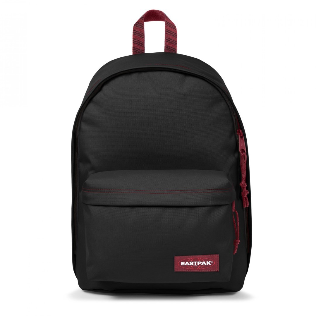 Eastpak OUT OF OFFICE Rugtas Blakout Stripe Red