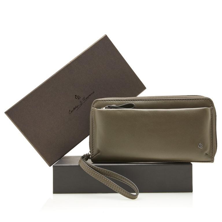 Castelijn & Beerens, Giftbox 80 5516 Smartphone Clutch RFID Groen