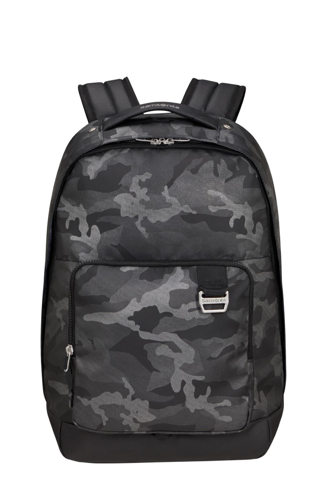 Samsonite Midtown Laptop Backpack M Camo Grey