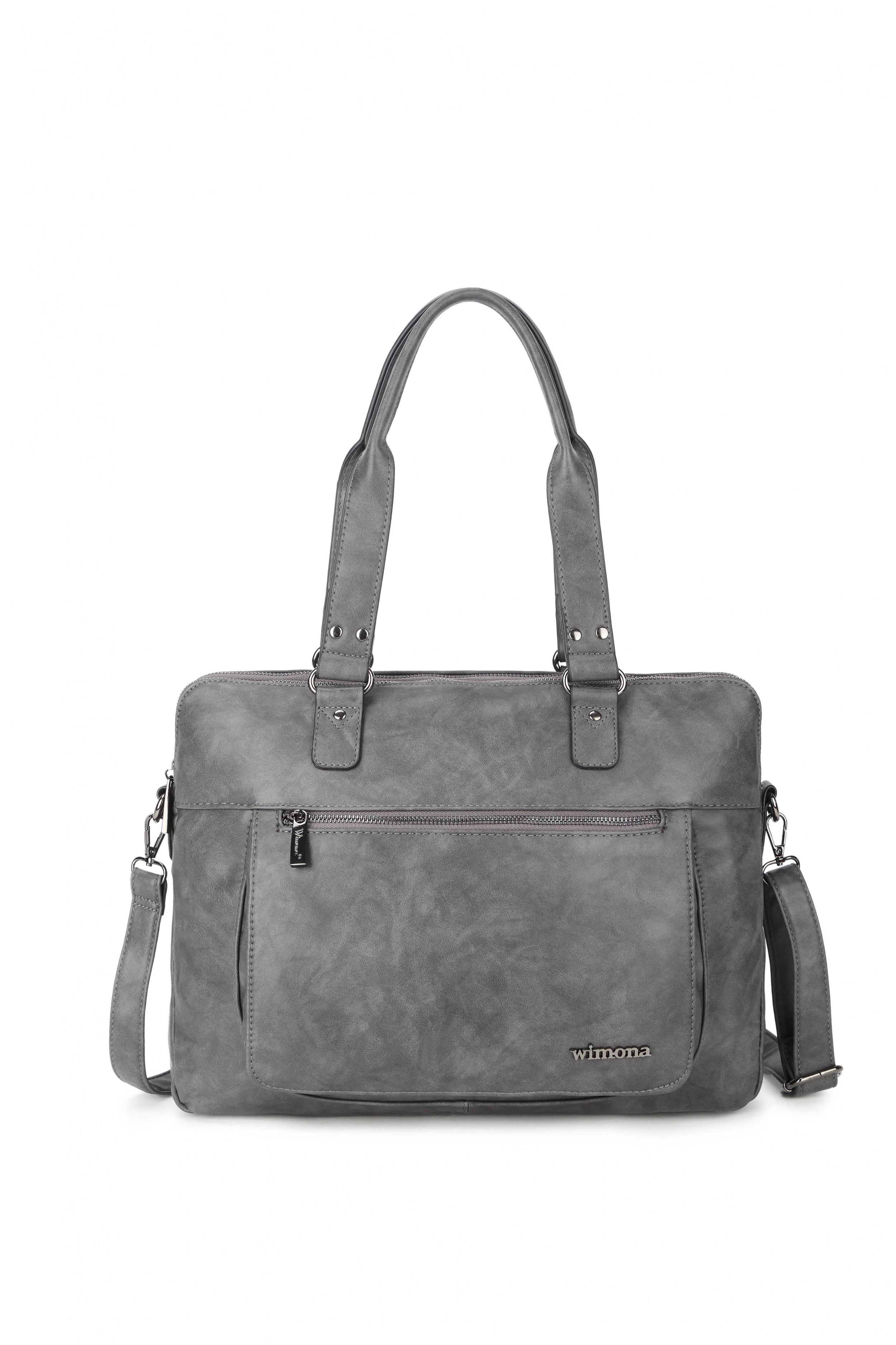 Wimona Bags Verona Laptoptas 2099 Grijs