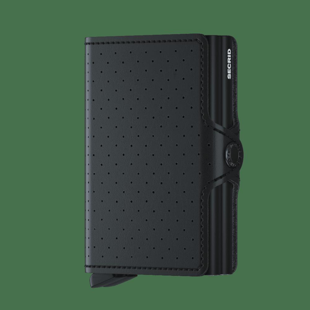 Secrid Twinwallet Perforated Black