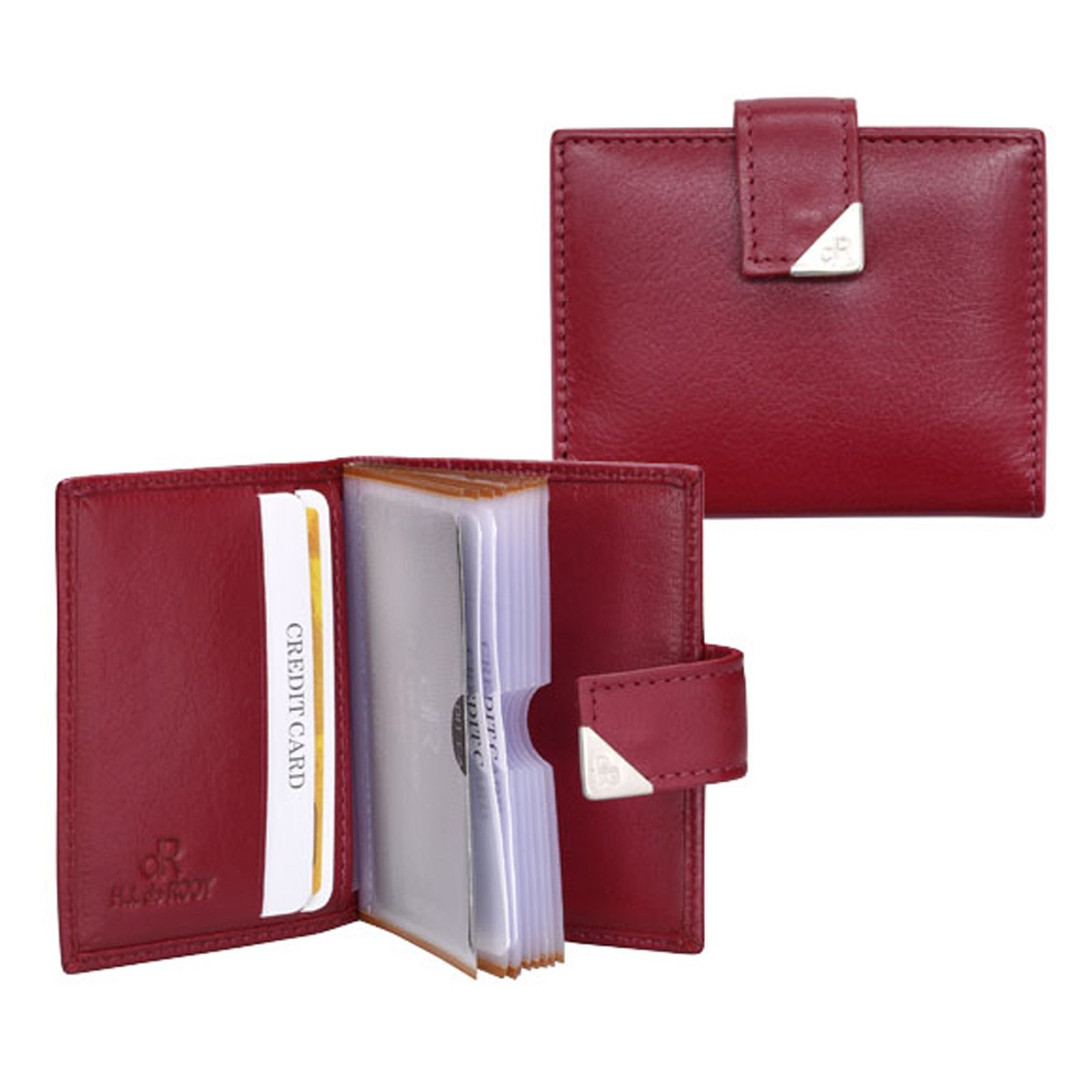 dR Amsterdam Creditcard-etui 15692 Red