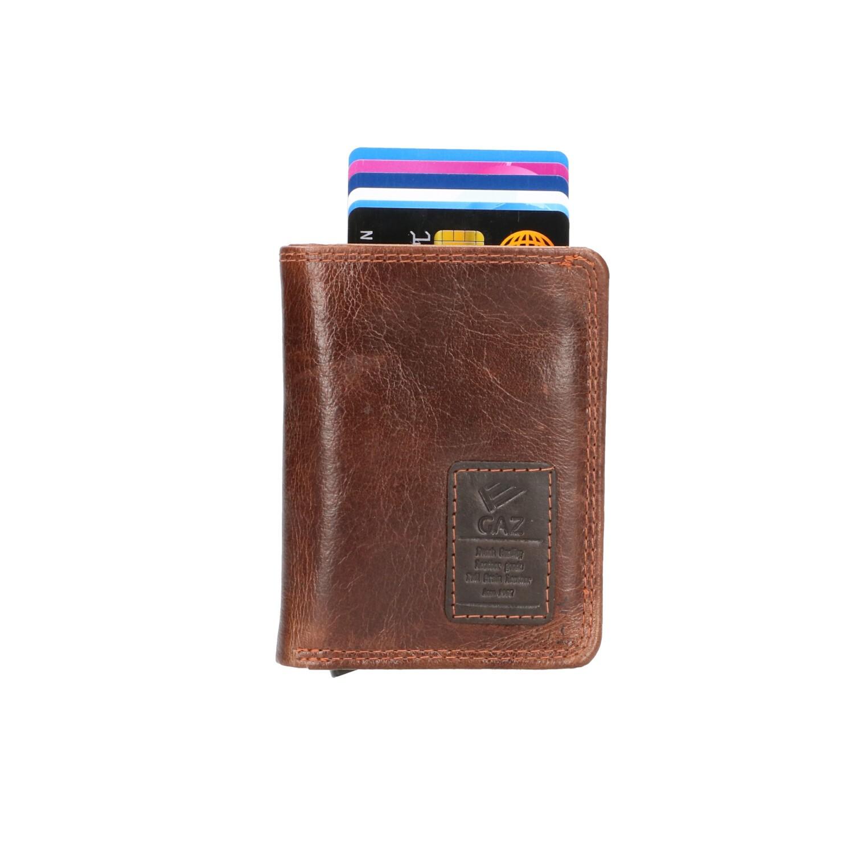 GAZ Portemonnee voor Cardprotector GA 2924/2 Bruin