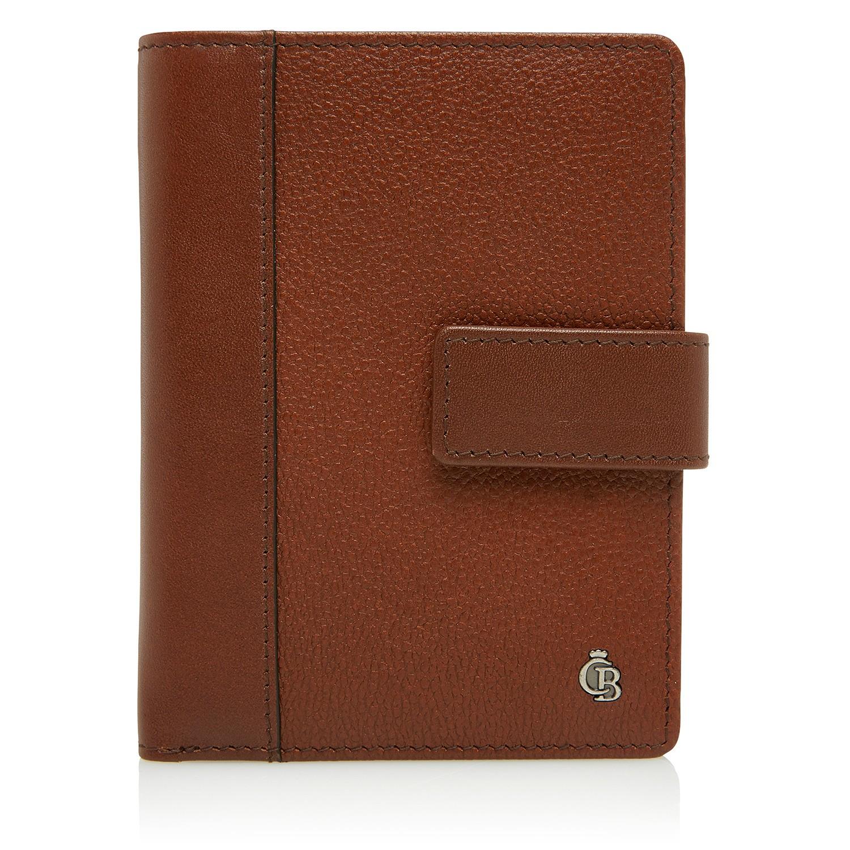 Castelijn & Beerens, 69 5415 RFID Ritsportemonnee 6 Creditcards Cognac