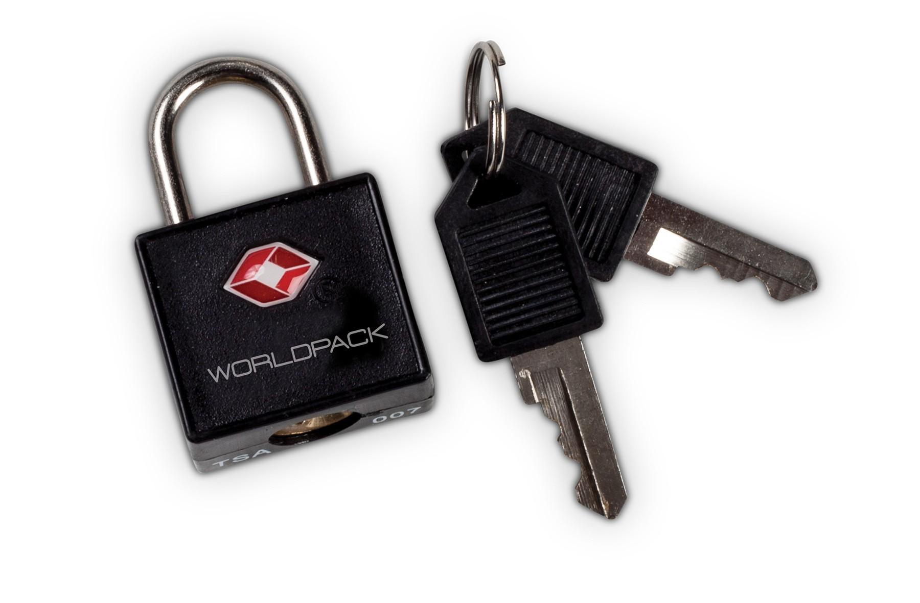 Fabrizio TSA sleutelslot 00109 Zwart
