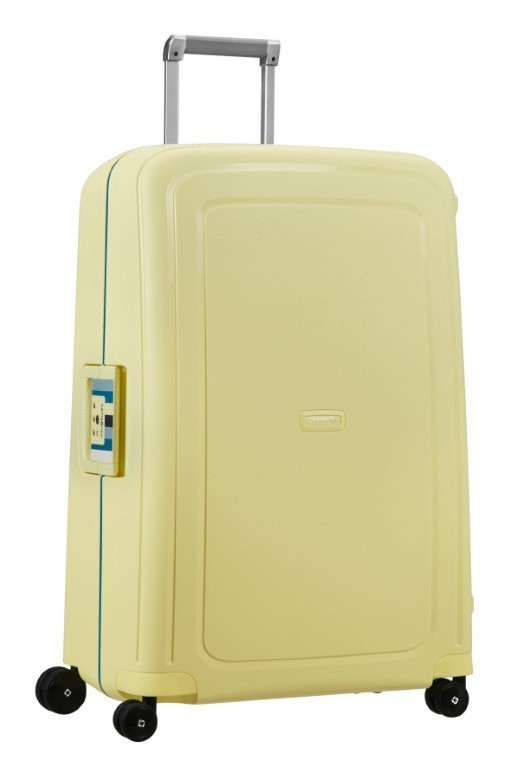 Samsonite S'Cure Spinner 75/28 Pastel Yellow Stripes