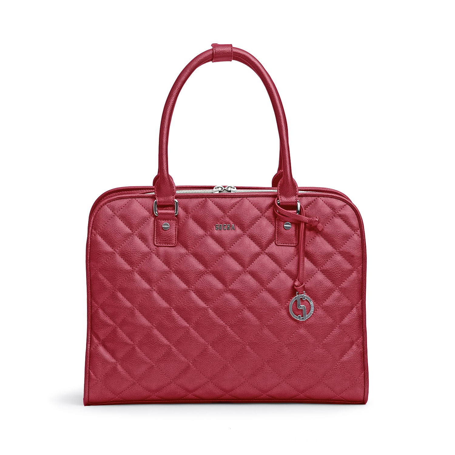 Socha Businessbag Ella Dark Cherry 11