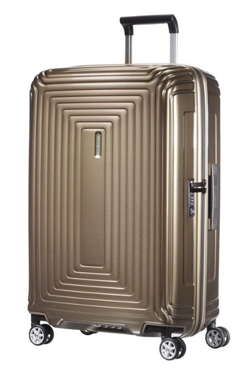 Samsonite Neopulse Spinner 69/25 Metallic Sand