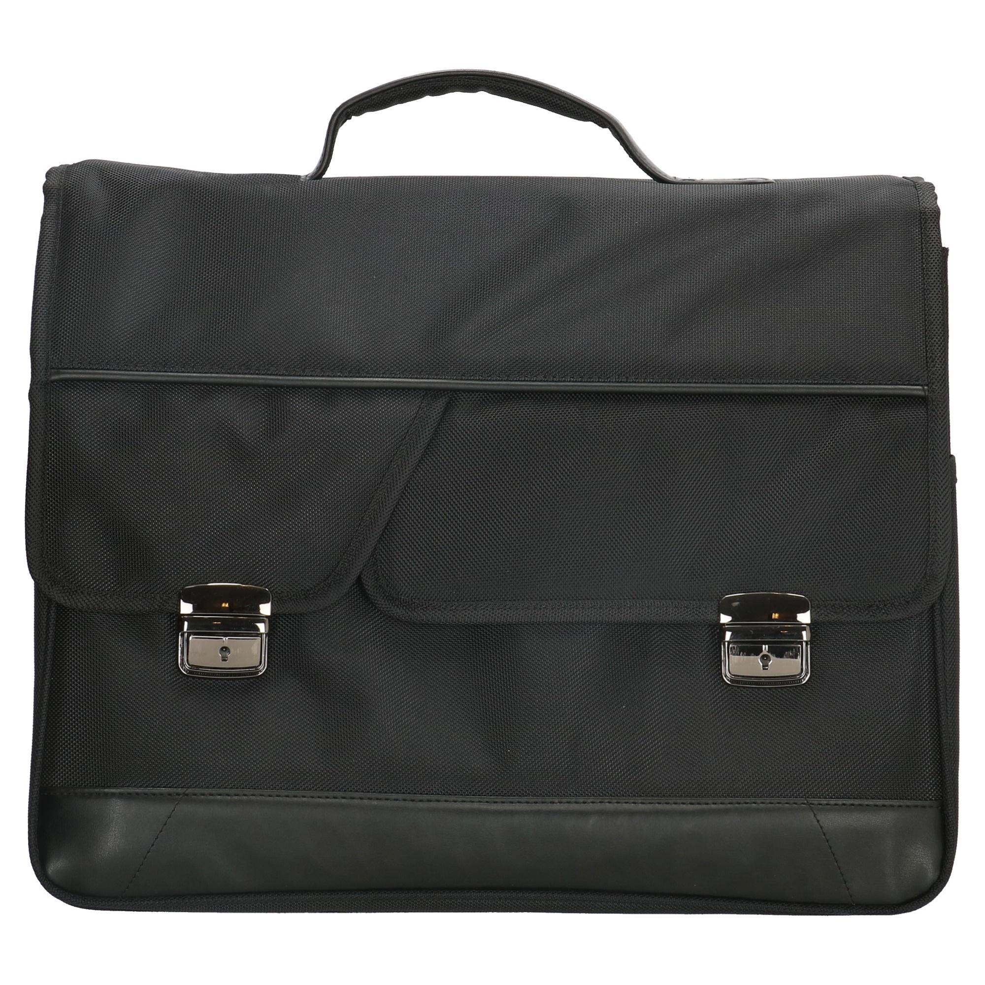Enrico Benetti Carter Laptop / businesstas 31212 Zwart
