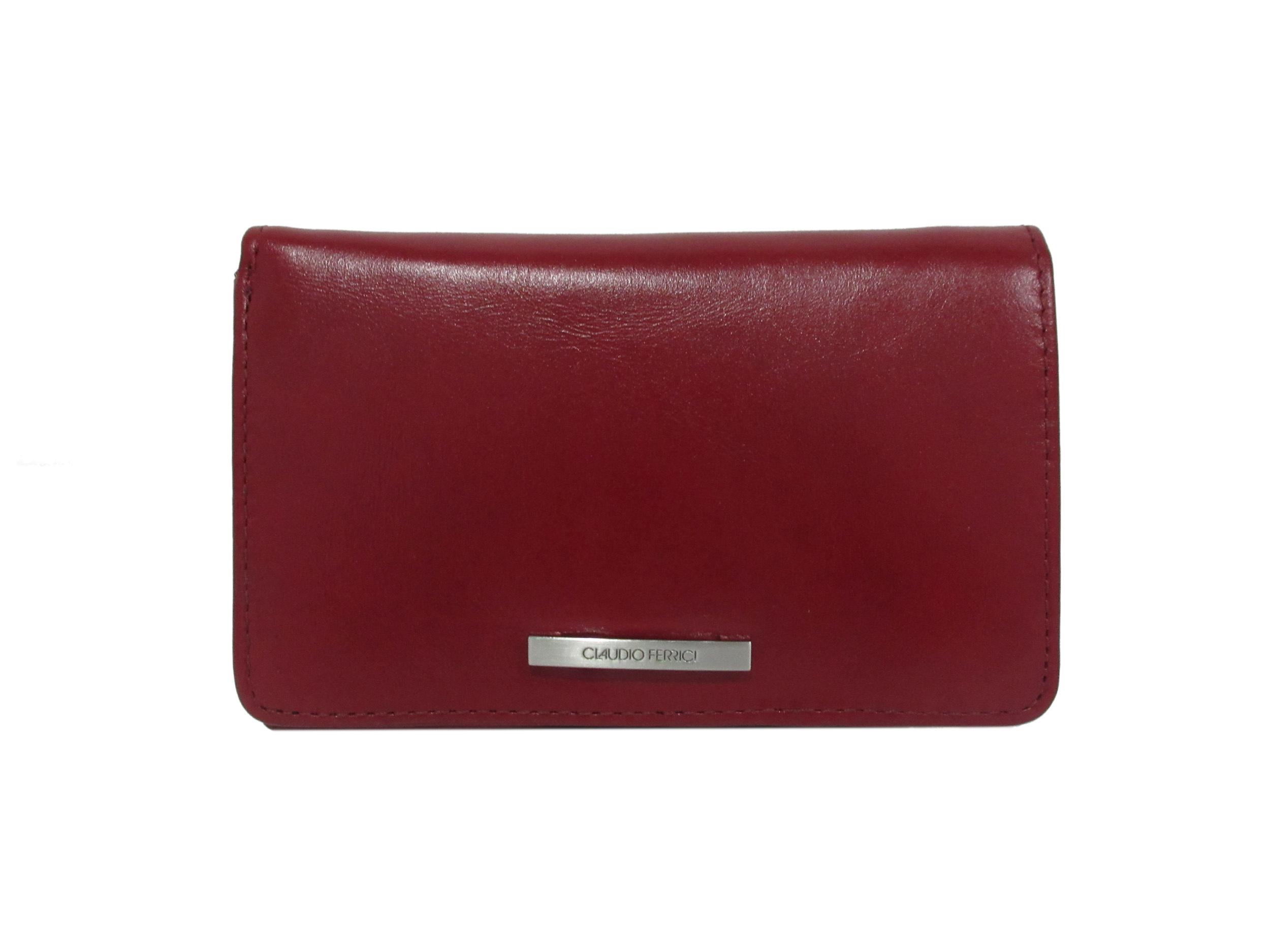 Claudio Ferrici Classico Wallet 18902 Red