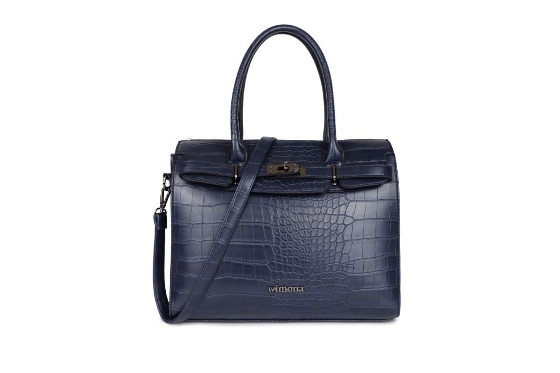 Wimona Bags Liona Handtas 5005 Donker Blauw