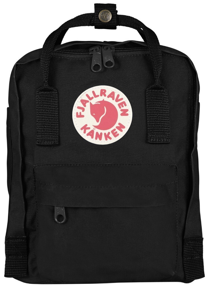Fjallraven ​​Kanken Mini Backpack F23561 Black