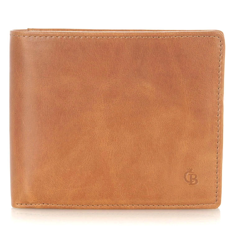 Castelijn & Beerens, 48 4150 Billfold 11 creditcards Licht Bruin