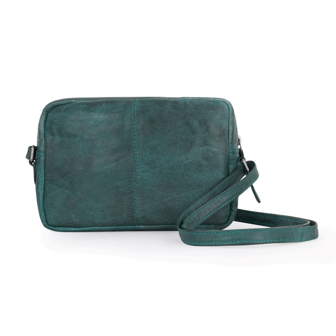 GENICCI Paisley Sling Bag Green