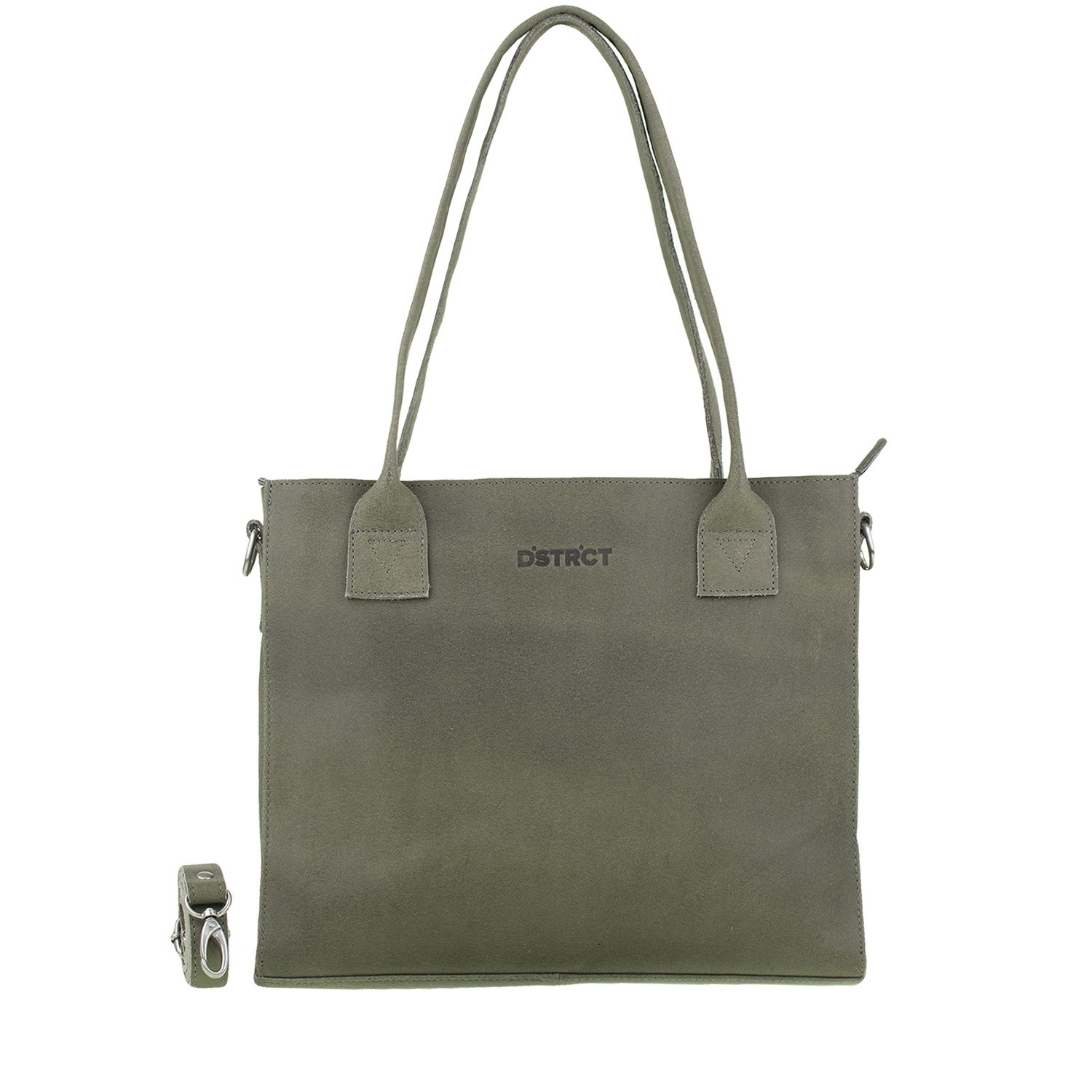 DSTRCT Riverside 012130 Shopper Small Grey