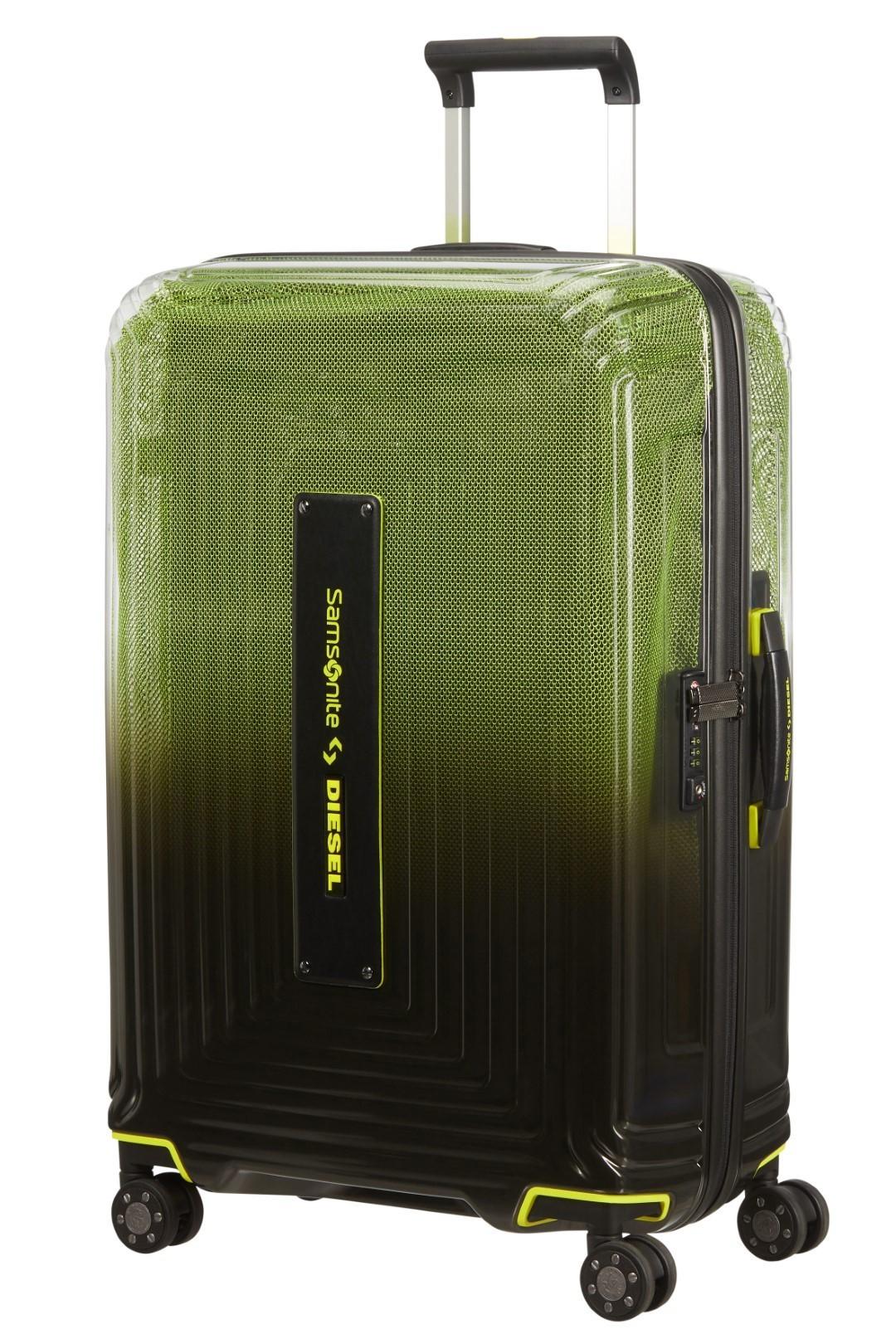 Samsonite Neopulse x Diesel Spinner 69/25 Black/Yellow