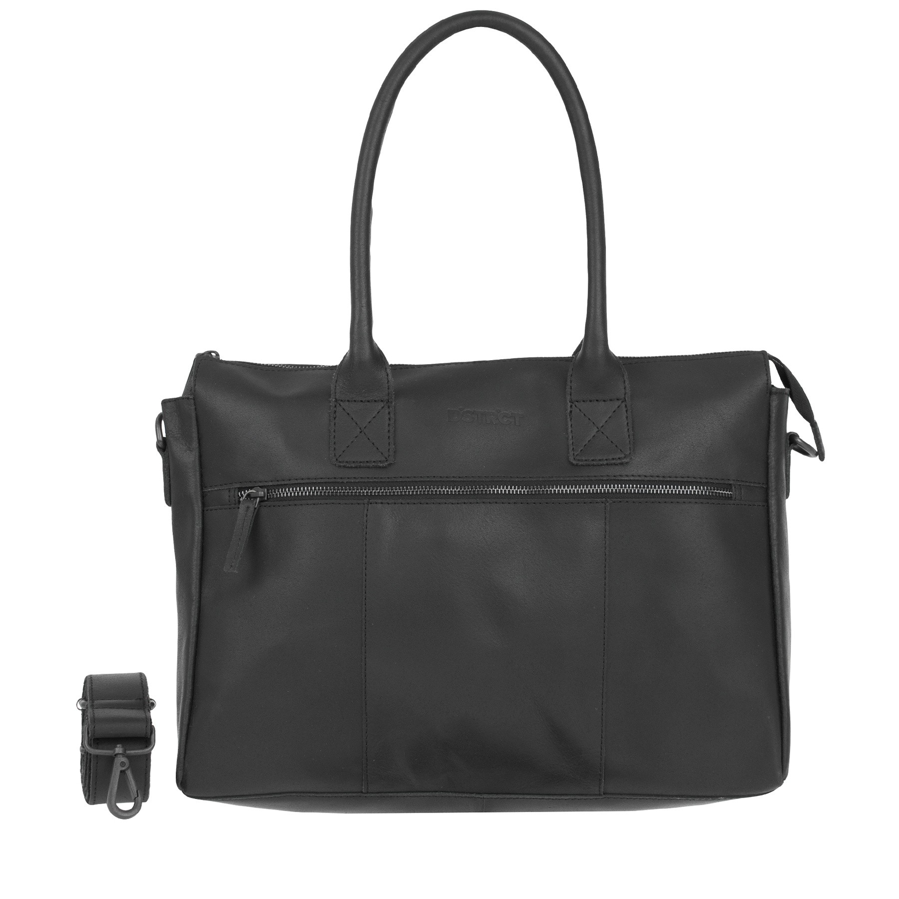 DSTRCT Riverside 011330 Business Bag Black