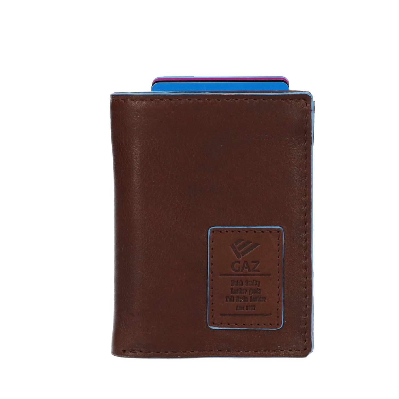 Leather Design Portemonnee voor Cardprotector LA 2924/2 Donker Bruin