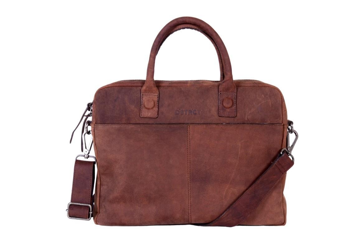 DSTRCT Wall Street Business Bag 'Alfa' 076020 Brown