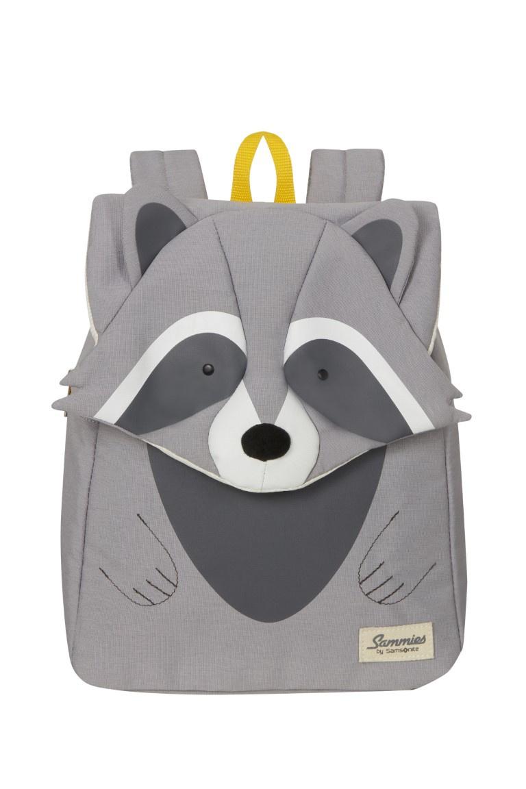 Samsonite Happy Sammies Eco Backpack S+ Racoon Remy