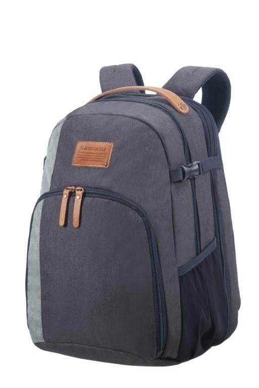 Samsonite Rewind Natural Laptop Backpack L exp River Blue