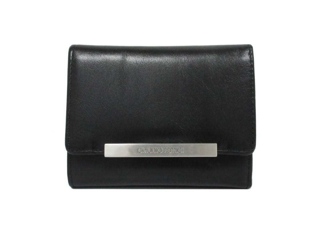 Claudio Ferrici Classico Wallet 18009 Black