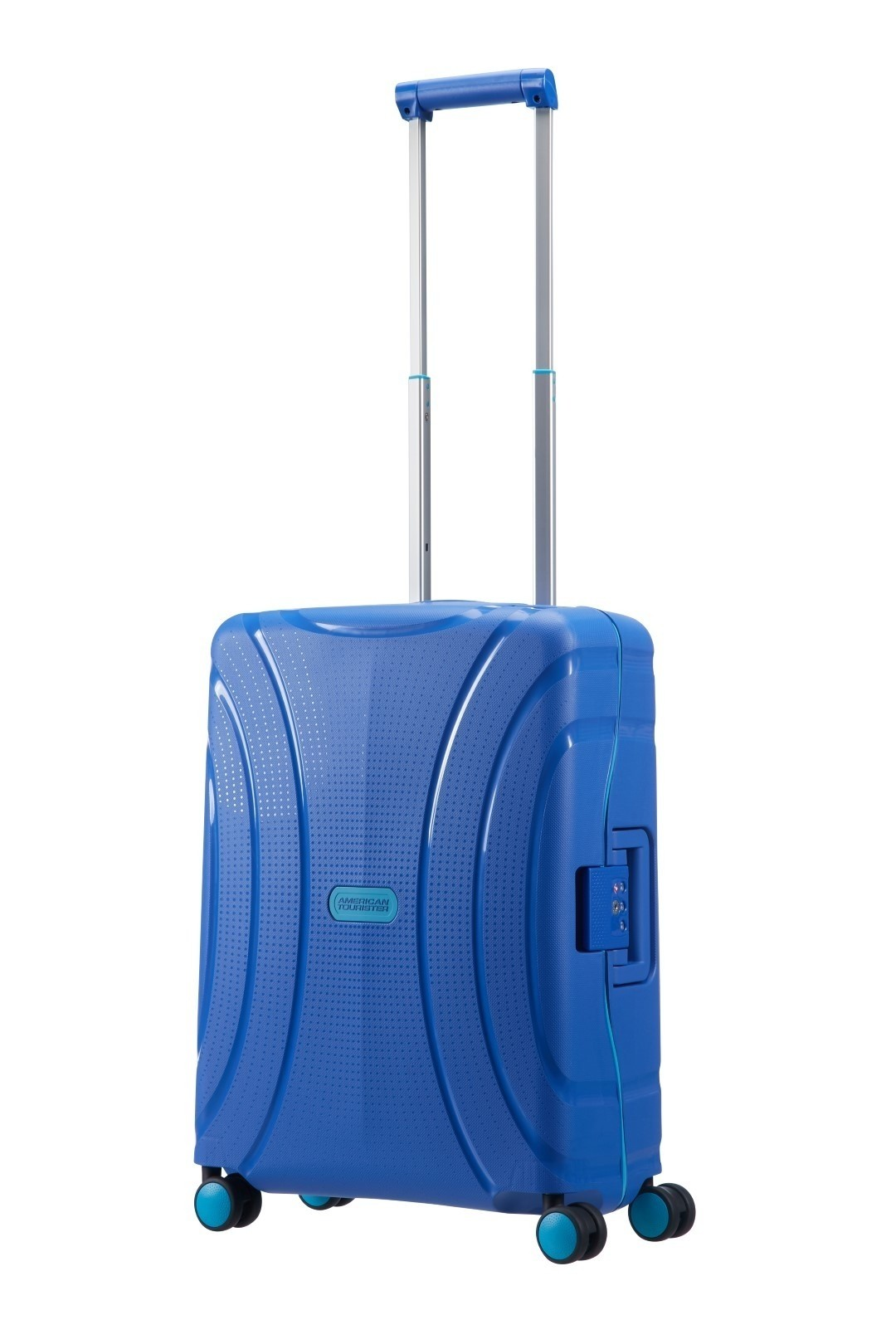 American tourister LOCK'N'ROLL SPINNER 55/20 SKYDIVER BLUE