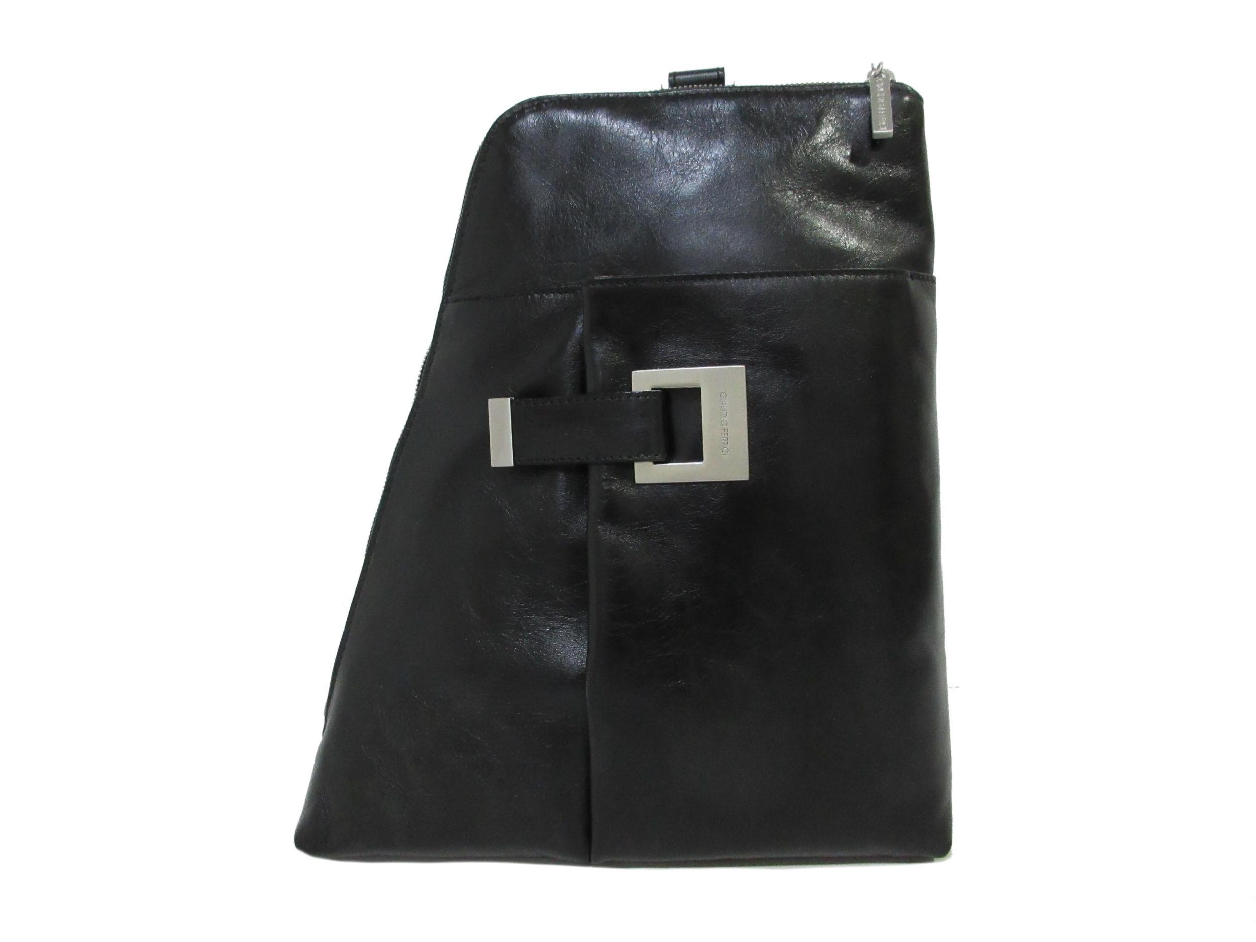 Claudio Ferrici Classico Backpack 18054 Black