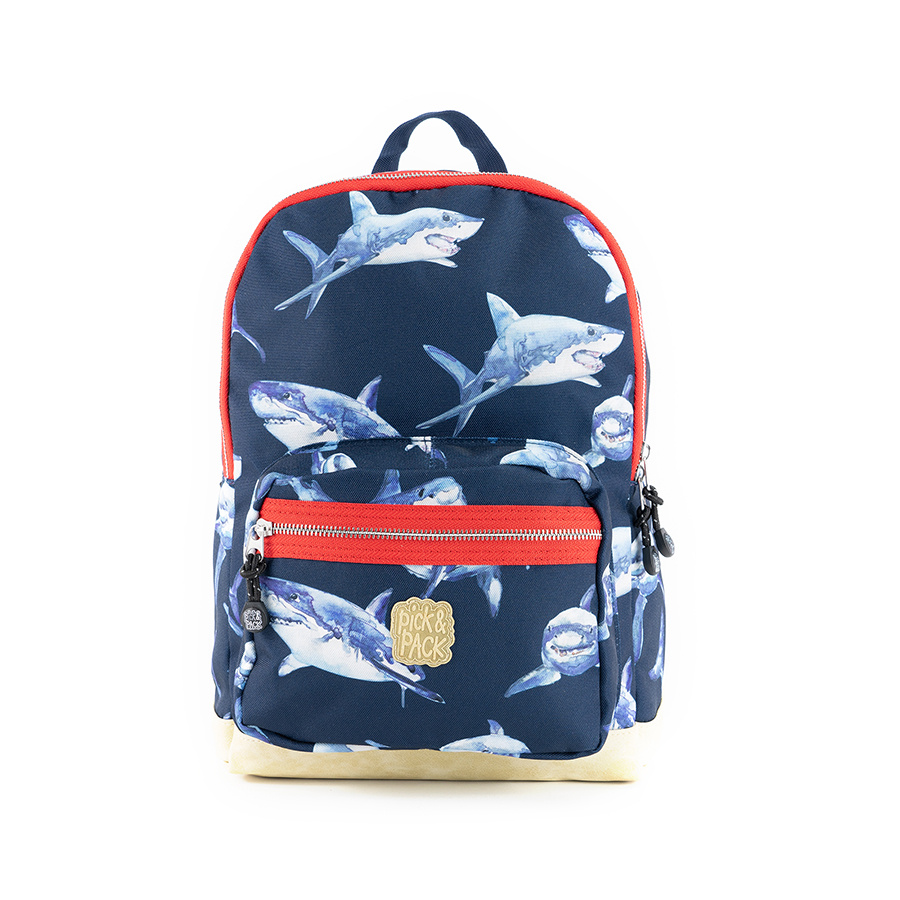 Pick & Pack Shark Backpack M Navy