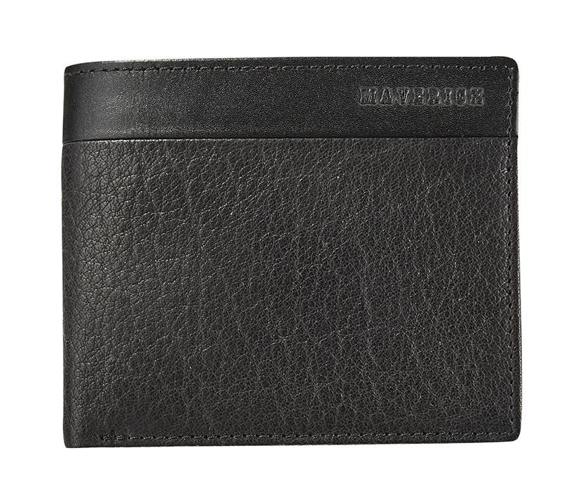 Maverick Texas Compact Billfold RFID Zwart