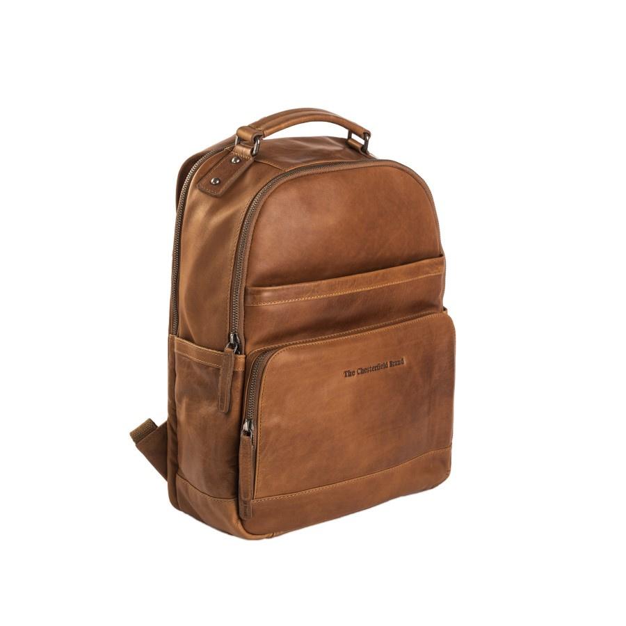 Chesterfield Laptop Rugzak 'Austin' C58.0184 Cognac