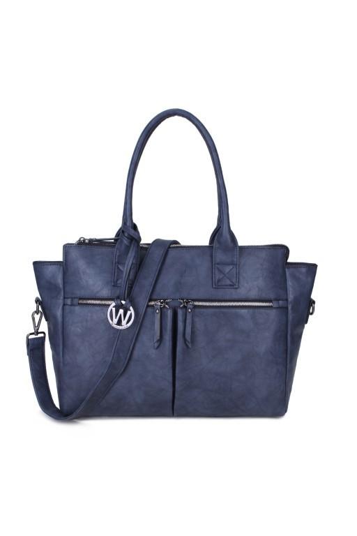 Wimona Bags Catarina-One Schoudertas 2031 Donker Blauw