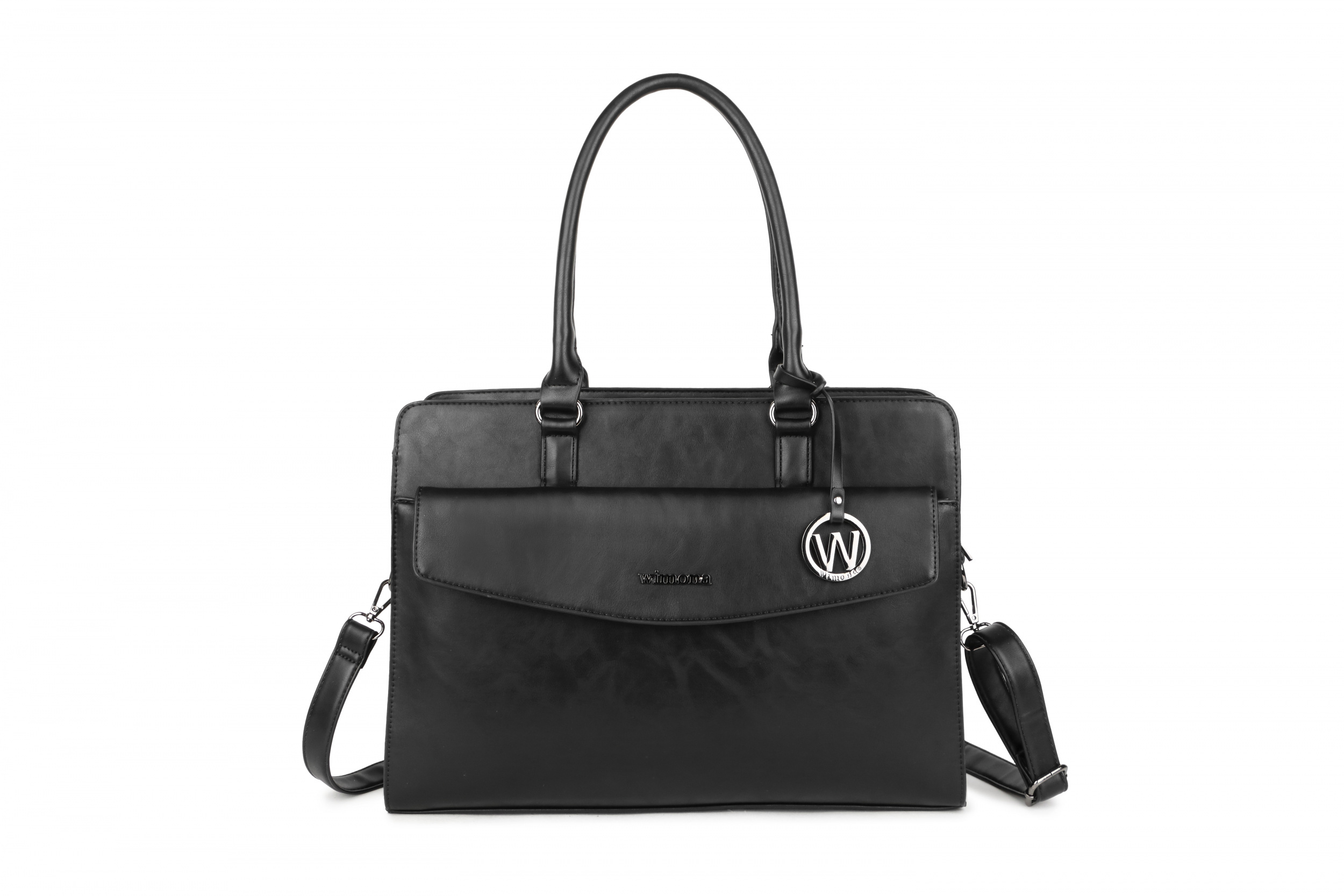 Wimona Bags Valentina Laptoptas 1180 Zwart
