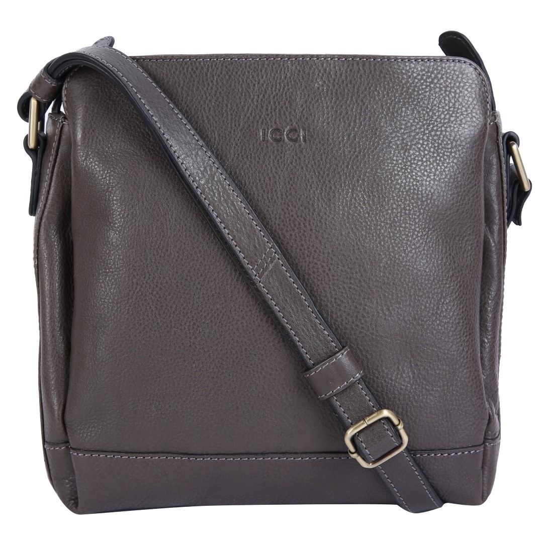 ICCI Zip Bag 62041 L.Grey