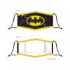 Afbeelding van DC Comics: Batman Yellow Logo Adjustable Face Mask