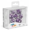 Afbeelding van Oakie Doakie Dice RPG Set Marble - Purple