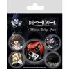 Afbeelding van Death Note: Characters Badge Pack