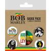 Afbeelding van Bob Marley: Badge Pack
