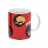 Afbeelding van Ladybug magic ceramic mug in a gift box - with images appear warm (320 ml) 12x9x10 cm