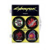 Afbeelding van Cyberpunk 2077: Magnet 4-Pack